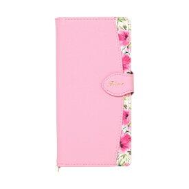 ナチュラルデザイン NATURAL design Galaxy A20専用手帳型ケース Fleur Pink GA20-FLE05