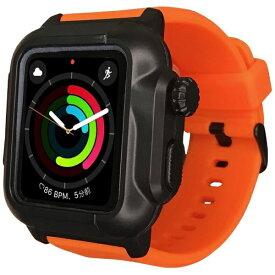 ROOX ルークス 防塵防水ケース タフネス for Apple Watch 4&5 44mm オレンジ YHDIPCW5L-OR