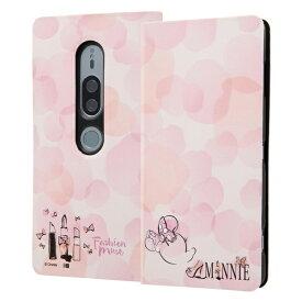 イングレム Ingrem Xperia XZ2 Premium/『ディズニーキャラクター』/手帳型アートケース マグネット スリム /『ミニーマウス』_016 『ミニーマウス』_016 IN-RDXZ2PMLC3/MN016
