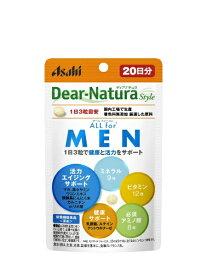 アサヒグループ食品 Asahi Group Foods Dear-Natura(ディアナチュラ)スタイルALLforMEN20日(60粒)