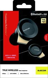 エレコム ELECOM フルワイヤレスイヤホン LBT-TWS05BK ブラック [リモコン・マイク対応 /ワイヤレス(左右分離) /Bluetooth]