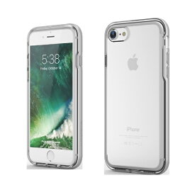 UI ユーアイ iPhone SE(第2世代)4.7インチINO Achrome Shield バンパーケース ホワイト