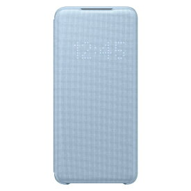 SAMSUNG サムスン 【サムスン純正】GalaxyS20 LED VIEW COVER EF-NG980PLEGJP