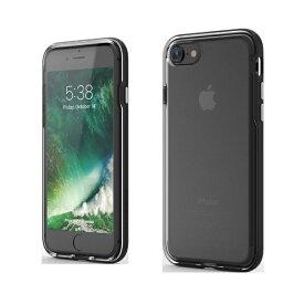 UI ユーアイ iPhone SE(第2世代)4.7インチINO Achrome Shield バンパーケース ブラック