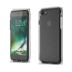 UI ユーアイ iPhone SE(第2世代)4.7インチINO Achrome Shield バンパーケース シルバー