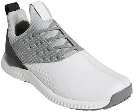 アディダス adidas 25.0cm メンズ ゴルフシューズ アディクロス バウンス2 ADICROSS Bounce 2.0 Shoes(ホワイト×シルバーメタリック×グレートゥー)DBE67 F35409