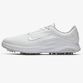 ナイキ NIKE 25.5cm メンズ ゴルフシューズ ナイキ ヴェイパー(ホワイト×メタリックシルバー×ピュアプラチナ×クールグレー) AQ2301