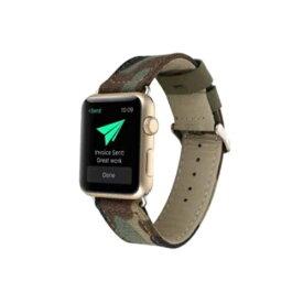 アイキューラボ iQ Labo Apple Watch (42mm) ベルト デニム カモフラ[IQAWDE42CA]