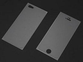 パワーサポート POWER SUPPORT iPhone SE(第1世代)4インチ / 5s / 5用 衝撃吸収アンチグレアフィルムセット 液晶画面用フィルム+背面用フィルム PSE-08 PSE08