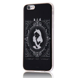 イングレム Ingrem iPhone 6s/6/TPUソフトケースグリッター/ディズニー/アリス アリス IN-DP6HG/AC
