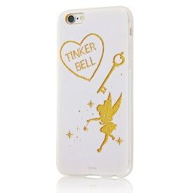 イングレム Ingrem iPhone 6s/6/TPUソフトケースグリッター/ディズニー/ティンカー・ベル ティンカー・ベル IN-DP6HG/TB