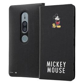 イングレム Ingrem Xperia XZ2 Premium/『ディズニーキャラクター』/手帳型アートケース マグネット スリム /『ミッキーマウス』_025 『ミッキーマウス』_025 IN-RDXZ2PMLC3/MK025