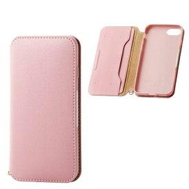 エレコム ELECOM iPhone SE(第2世代)4.7インチ対応 ソフトレザーケース 磁石付 ピンク PM-A19APLFY2PN