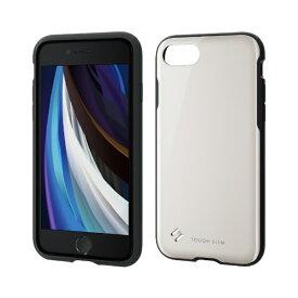 エレコム ELECOM iPhone SE(第2世代)4.7インチ対応 TOUGH SLIM2 ホワイト PM-A19ATS2WH