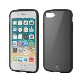 エレコム ELECOM iPhone SE(第2世代)4.7インチ対応 TOUGH SLIM LITE ブラック PM-A19ATSLBK