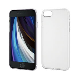 エレコム ELECOM iPhone SE(第2世代)4.7インチ対応 ソフトケース 極み フォルティモ クリア PM-A19AUCT2CR