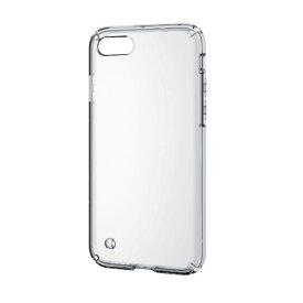 エレコム ELECOM iPhone SE(第2世代)4.7インチ対応 ハイブリッドケース クリア PM-A19AHVCCR