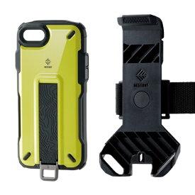 エレコム ELECOM iPhone SE(第2世代)4.7インチ対応 NESTOUT Trekking イエロー PM-A19ANESTTYL