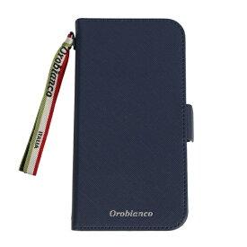 イングリウッド inglewood iPhone 11 Orobianco サフィアーノ調 PU Leather Book Type Case NAVY orobianco IP11-ORB02