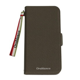 イングリウッド inglewood iPhone 11 Orobianco サフィアーノ調 PU Leather Book Type Case KHAKI orobianco IP11-ORB04