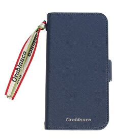 イングリウッド inglewood iPhone 11 Pro Orobianco サフィアーノ調 PU Leather Book Type Case NAVY orobianco IP11p-ORB02