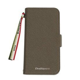 イングリウッド inglewood iPhone 11 Pro Orobianco サフィアーノ調 PU Leather Book Type Case KHAKI orobianco IP11p-ORB04