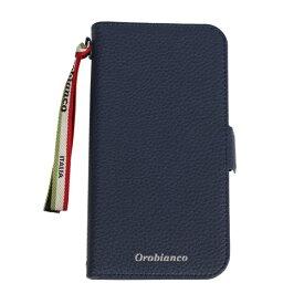 イングリウッド inglewood iPhone 11 Orobianco シュリンク PU Leather Book Type Case NAVY orobianco IP11-ORB06