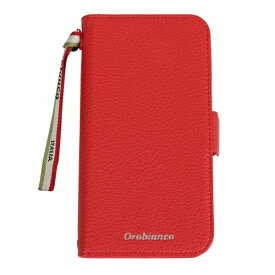 イングリウッド inglewood iPhone 11 Orobianco シュリンク PU Leather Book Type Case RED orobianco IP11-ORB07