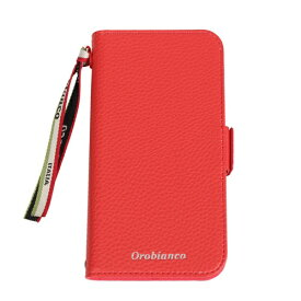 イングリウッド inglewood iPhone 11 Pro Orobianco シュリンク PU Leather Book Type Case RED orobianco IP11p-ORB07