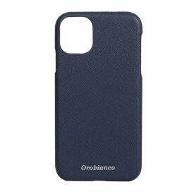 イングリウッド inglewood iPhone 11 Orobianco サフィアーノ調 PU Leather Back Case NAVY orobianco IP11-ORB10