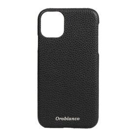 イングリウッド inglewood iPhone 11 Orobianco シュリンク PU Leather Back Case BLACK Orobianco IP11-ORB13