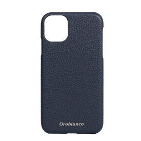 イングリウッド inglewood iPhone 11 Orobianco シュリンク PU Leather Back Case NAVY Orobianco IP11-ORB14
