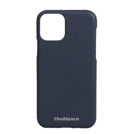 イングリウッド inglewood iPhone 11 Pro Orobianco シュリンク PU Leather Back Case NAVY Orobianco IP11p-ORB14