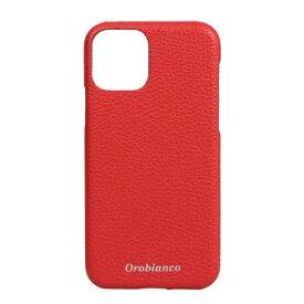 イングリウッド inglewood iPhone 11 Pro Orobianco シュリンク PU Leather Back Case RED Orobianco IP11p-ORB15