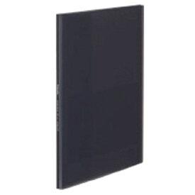 コクヨ KOKUYO クリヤーブック 固定式 A4縦 10ポケット ラ-GL10D グラッセル ブラック