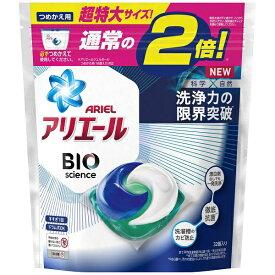 P&G ピーアンドジー ARIEL(アリエール) バイオサイエンスジェルボール つめかえ用 超特大サイズ 32個