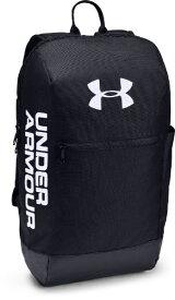 アンダーアーマー UNDER ARMOUR 男女兼用 バックパック UA Patterson Backpack(W31cm x D13cm x H47cm/Black / Black / White) 1327792-001