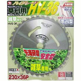 バクマ工業 BAKUMA INDUSTRIAL バクマ 草刈用 刈払いチップソー HV-36 バクマ HVS-36