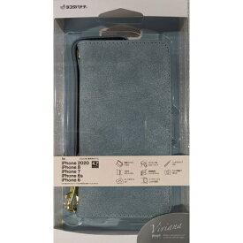 ラスタバナナ RastaBanana iPhone SE(第2世代)4.7インチ/8/7/6s共用手帳 VIVIANA H 5458IP047BO ライトブルー