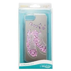 サンクレスト SUNCREST iPhone SE(第2世代)4.7インチ 8/7/6 iWATER ハードケース シューズピンク i33DGI11