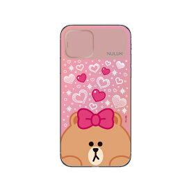 ROA ロア iPhone 11 LIGHT UP CASE スニークピーク チョコ LINE FRIENDS KCE-CSA060