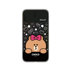ROA ロア iPhone 11 LIGHT UP CASE スターチョコ LINE FRIENDS KCE-CSA091
