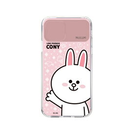 ROA ロア iPhone 11 LIGHT UP CASE ベーシック コニー LINE FRIENDS KCE-CSA020