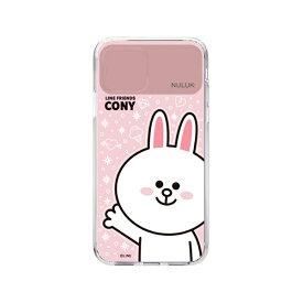 ROA ロア iPhone 11 LIGHT UP CASE ベーシック コニー LINE FRIENDS KCE-CSA020