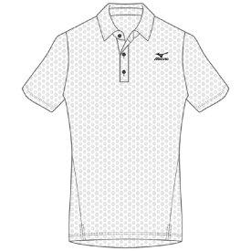 ミズノ mizuno メンズ ドライエアロフローポロシャツ(Mサイズ/ホワイト) K2JA0183