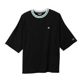 チャンピオン CHAMPION レディース ウィメンズ ビッグTシャツ(Lサイズ/ブラック) CW-RS303