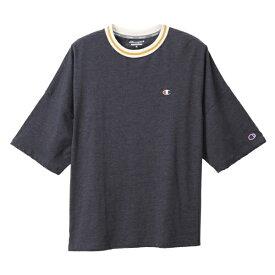 チャンピオン CHAMPION レディース ウィメンズ ビッグTシャツ(Lサイズ/ネイビー) CW-RS303
