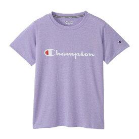 チャンピオン CHAMPION レディース ウィメンズ C VAPOR Tシャツ(Mサイズ/ラベンダー) CW-PS303