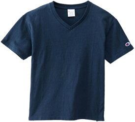 チャンピオン CHAMPION レディース ウィメンズ VネックTシャツ(Mサイズ/ネイビー) CW-M323