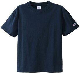 チャンピオン CHAMPION レディース ウィメンズ クルーネックTシャツ(Lサイズ/ネイビー) CW-M322